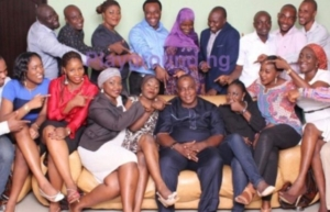 Oga Bello and his 18 children