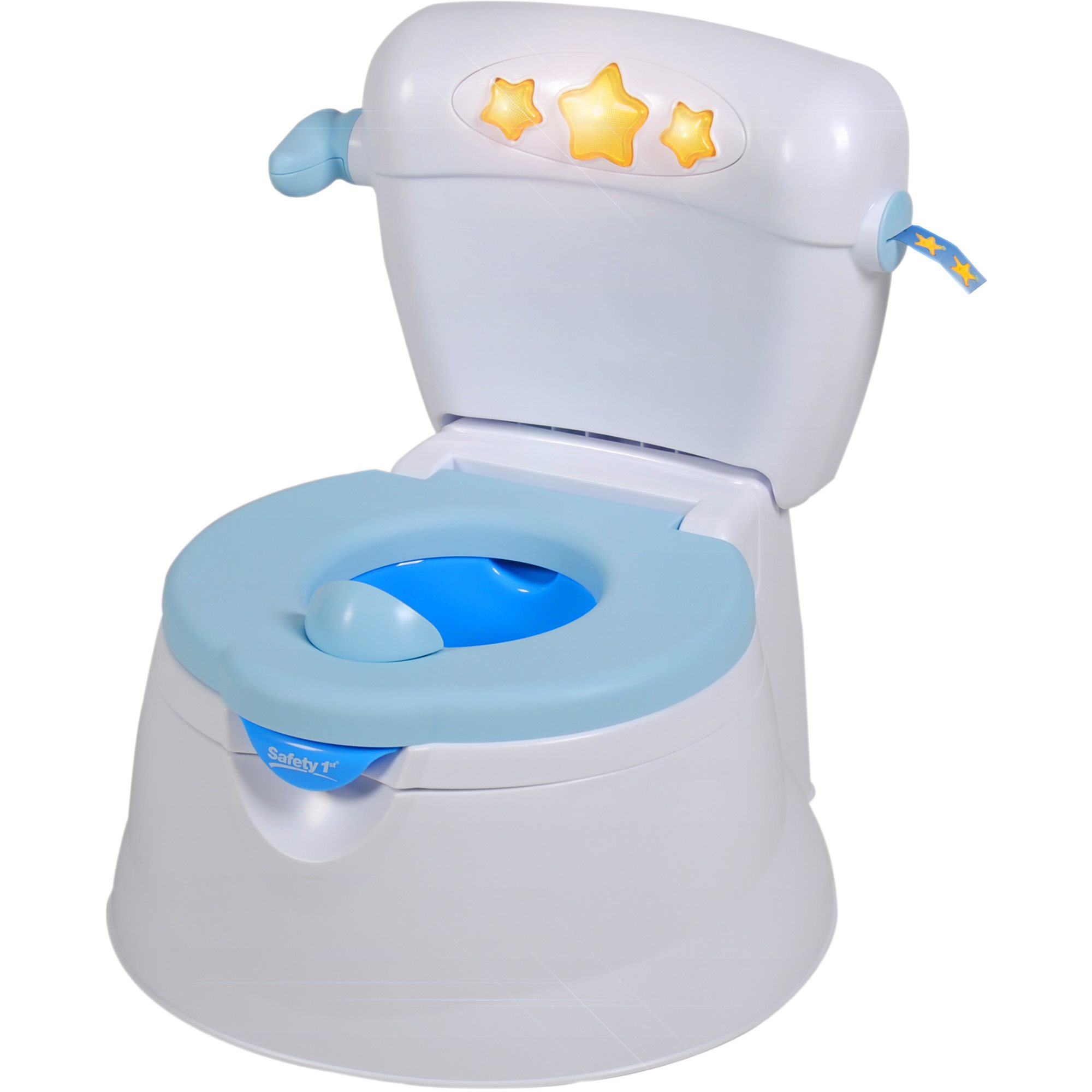 The more colourful a potty is, the more attracted and attached your toddler becomes to it