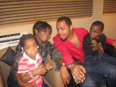 Ramsey Nouah and wife