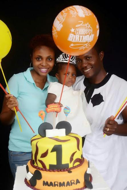 Mmachukwu and her lovely family