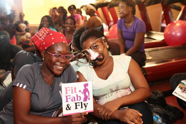 Some more happy faces at Fabmumng Sweatitout Event