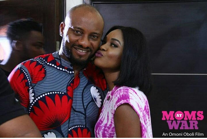 Yul Edochie, Omoni's on-screen husband