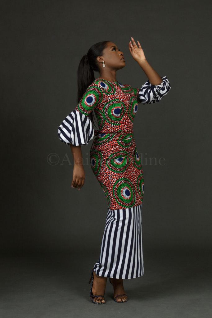 Ebi-Top-and-Faux-wrapper-set-Alaine-by-Celine:fabmumng