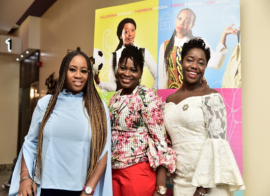 Ife, Olabisi, Toyin at Baby Mamas Films private screening in Lagos