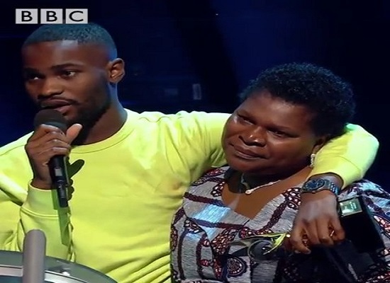 2019 Mecury Prize winner, Dave real names David Orobosa Omoregie and mum Photo by BBC