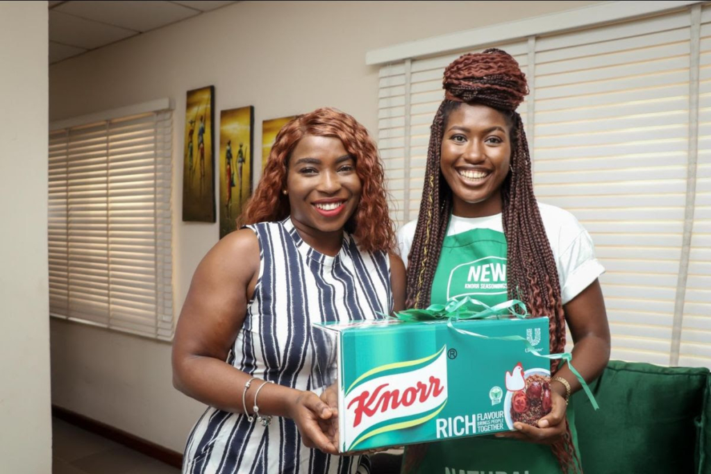 Generation Equality and knorr gift box of goodness