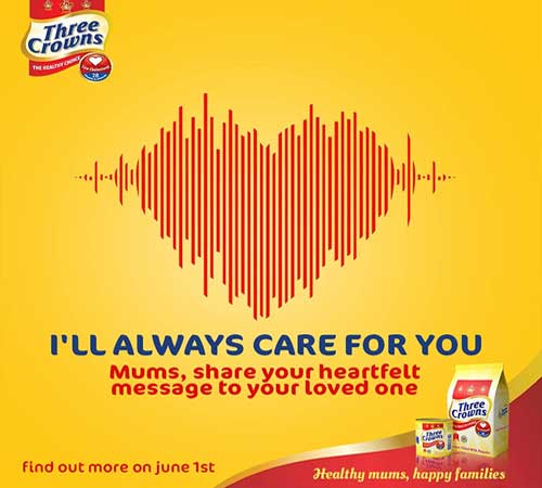 three crowns marks world milk day with voice of the heart campaign