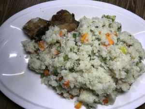 A meal made of fonio for weight loss